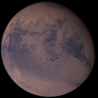 3d model photorealistic mars