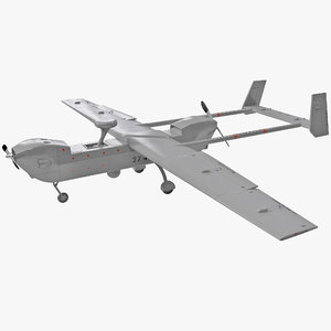 3ds max rq-5 hunter unmanned aircraft plane