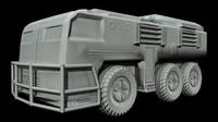 3d model offroad apc
