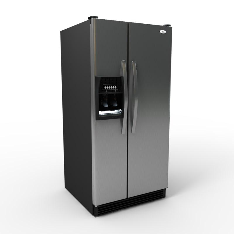 wd5350d refrigerator 3d model