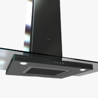 whw9900s stove hood 3d max
