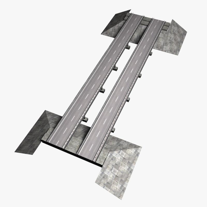 3d mid-poly bridge