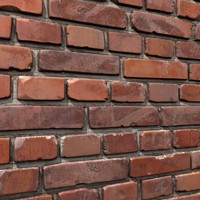 brick wall 11 3d max