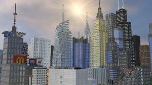 3ds minecraft city