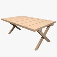 blend picnic table