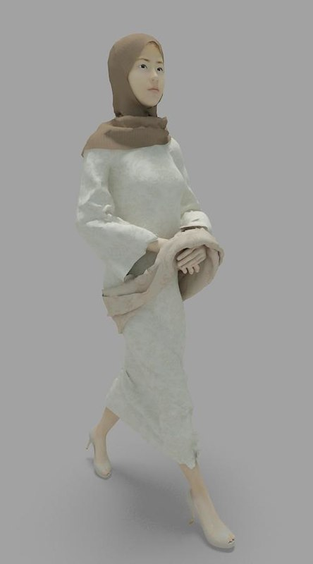 max japanese muslim lady