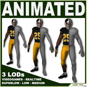 games 3 3d model