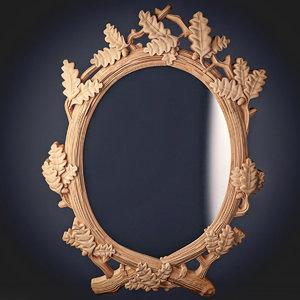 mirror oak 3d model