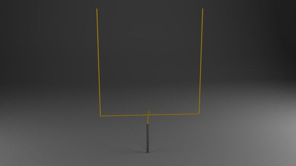 max american football upright goal post