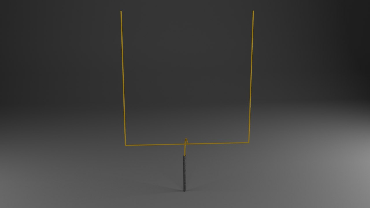 max american football upright goal post