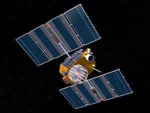 3d max gps satellite