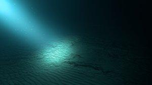 realistic deep water scene max