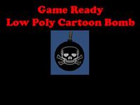 cartoon bomb 3d model