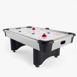 air hockey table obj