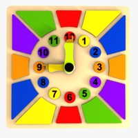 3d clock puzzle toy