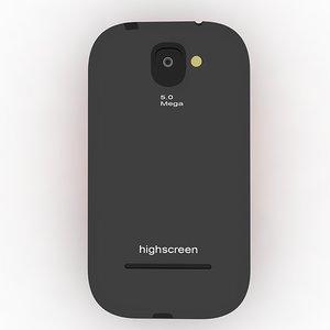 highscreen spark 3d 3ds