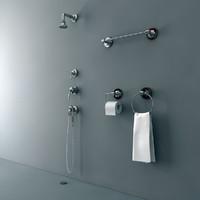 Waterworks Shower Set Tap Mixer Paper Holder