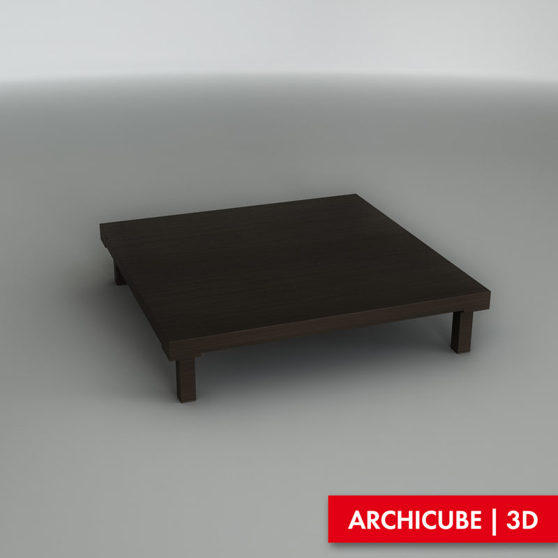 3ds max coffee table