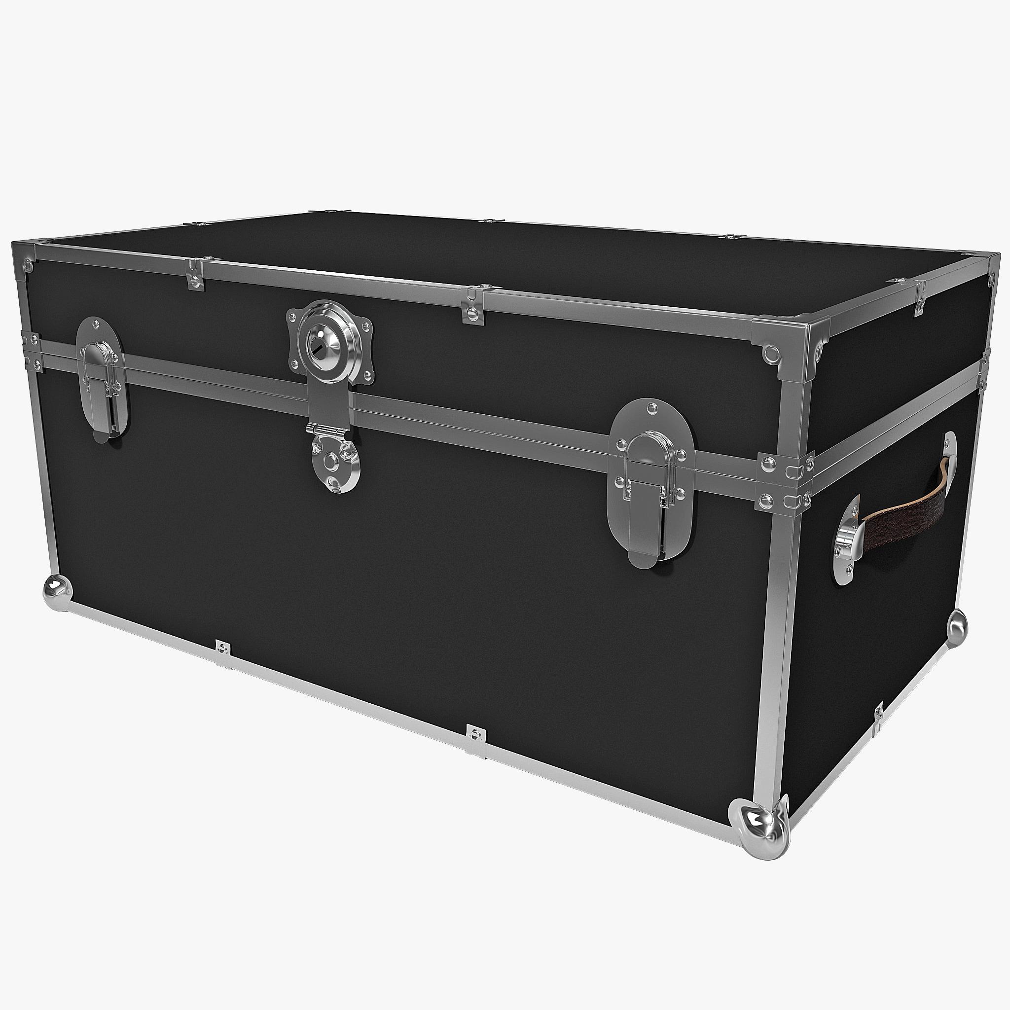 armor storage trunk 3d model