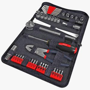 c4d automotive tool kit