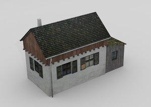gatekeeper house 3d model