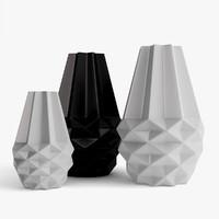 Bolia Facet Vases