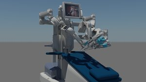 max da vinci robot