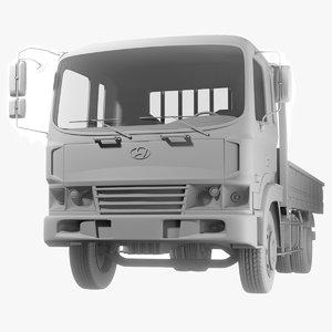 truck hyundai hd 120 obj