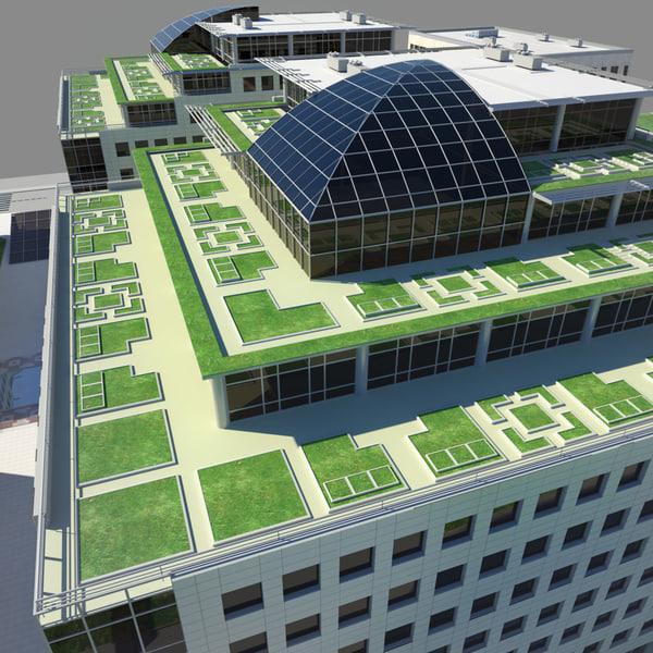 hotel building 3d max