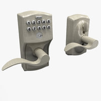 Keypad Accent Lever Door Lock
