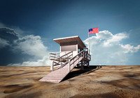 Beach Lifeguard Station