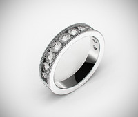 classic male wedding ring 3dm