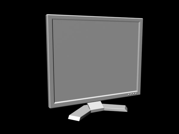 monitor 3d 3ds