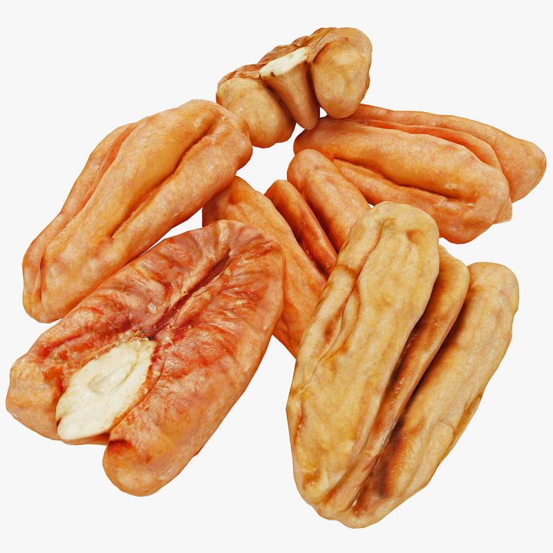 3ds max pecan nuts