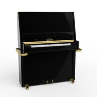3d model piano ronish
