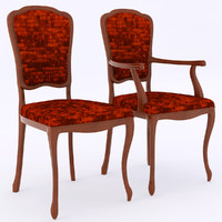 3d model selva chair