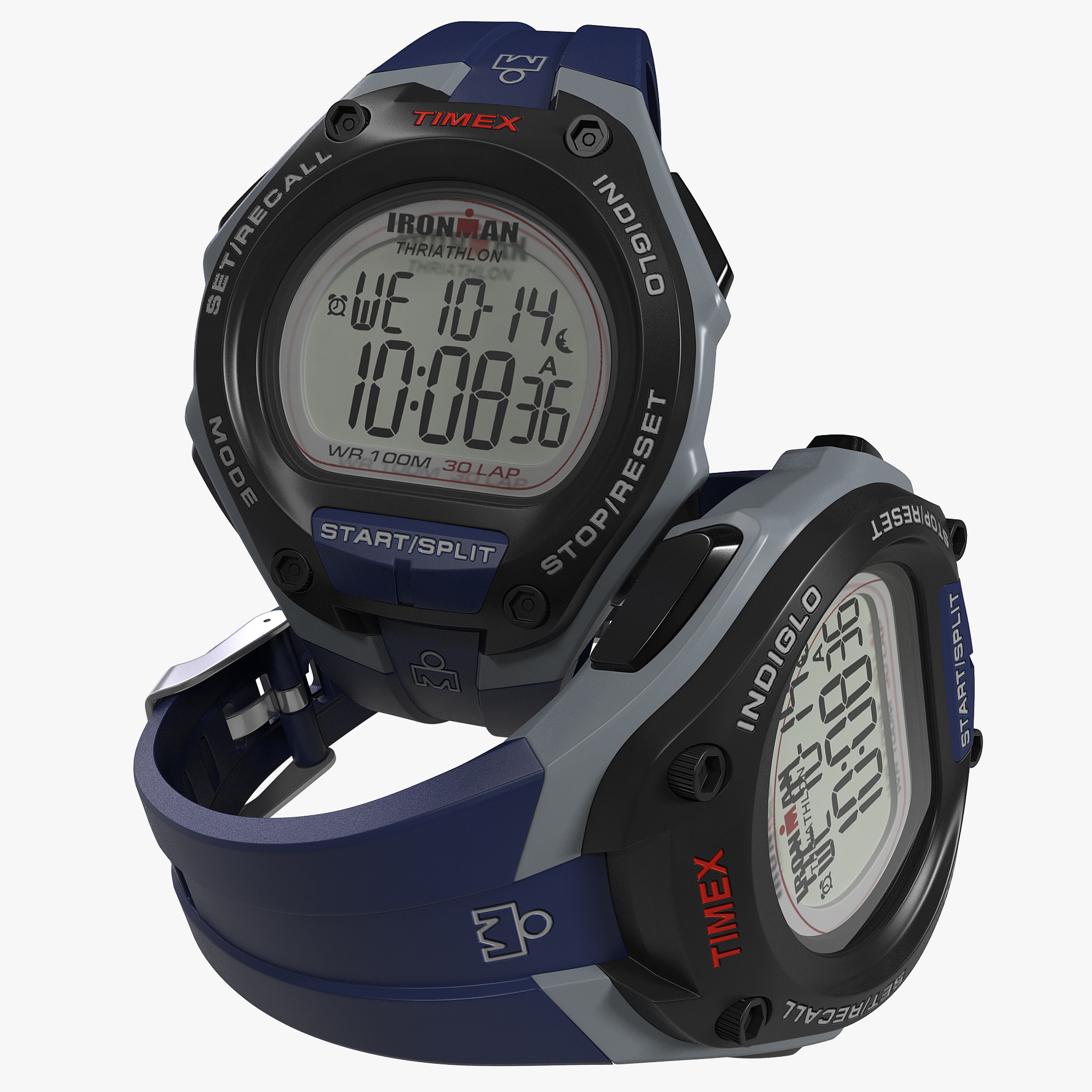 3d model of x ironman watch