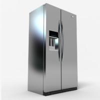 wd3090y refrigerator 3d model