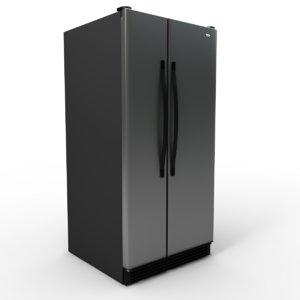 wd5001d refrigerator 3d model