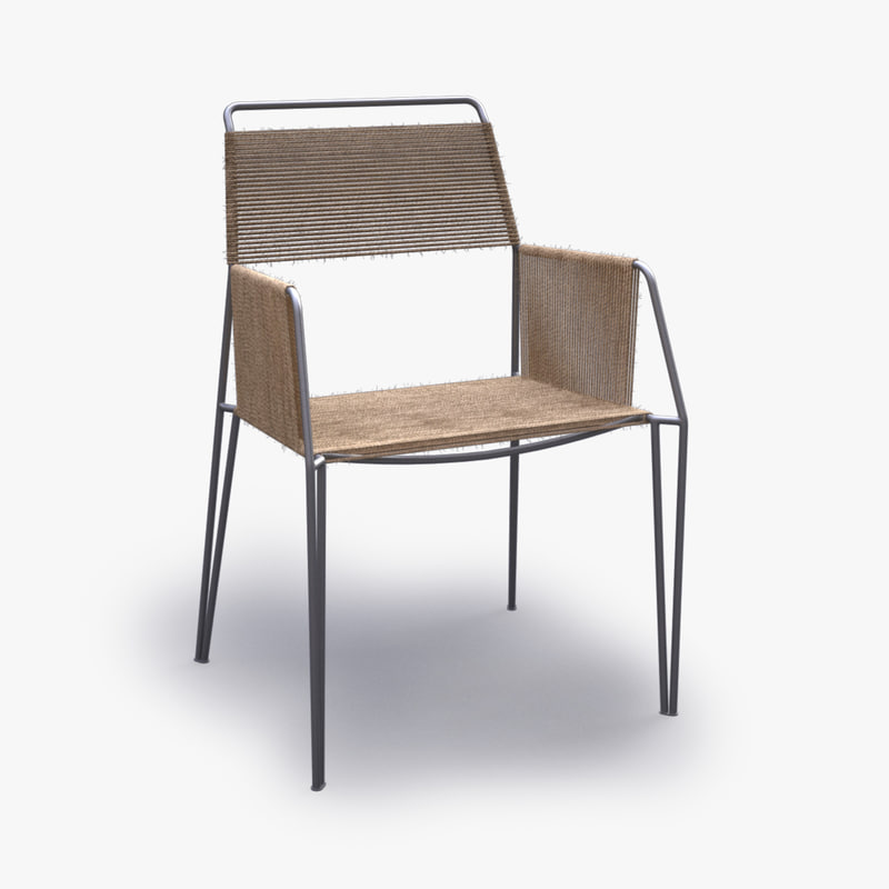 alessandro wired armchair chair plastic max
