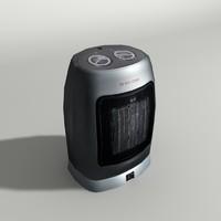 3d fan heater