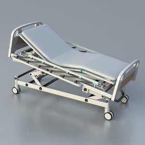 3d icu hospital bed