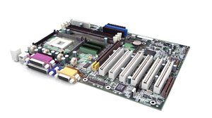 motherboard 3d model
