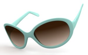 3ds max sunglasses accessories