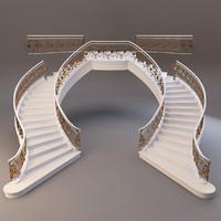3dsmax staircase