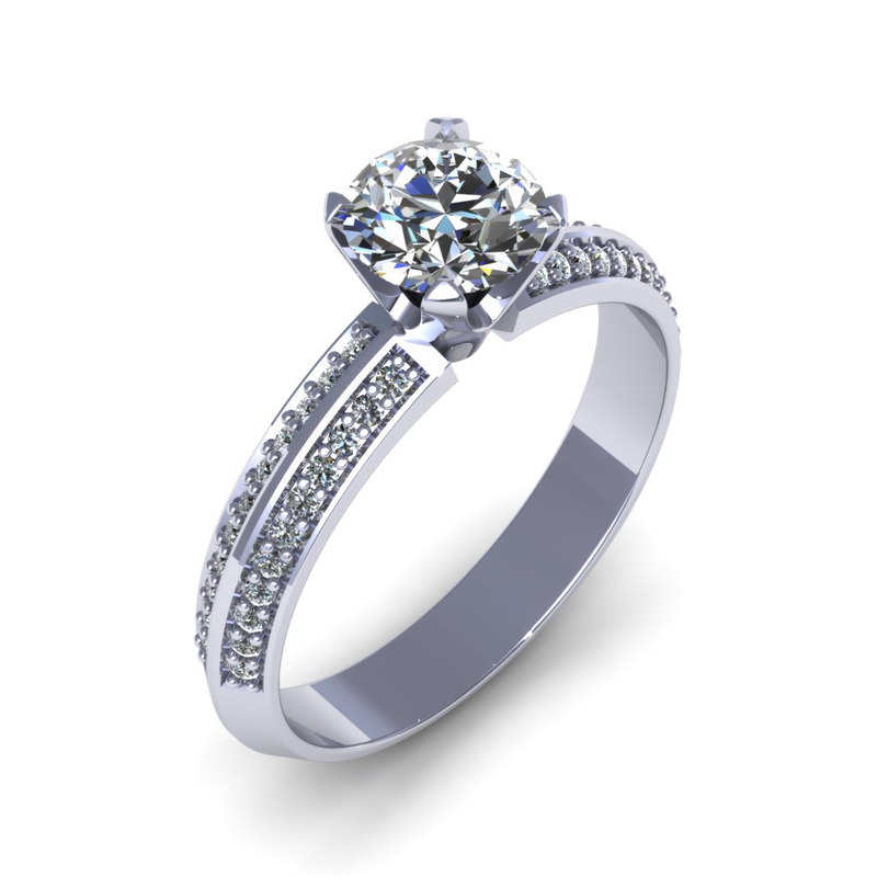 3d 3dm diamond ring