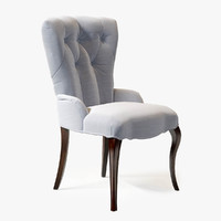 3d baker furniture tufted chair