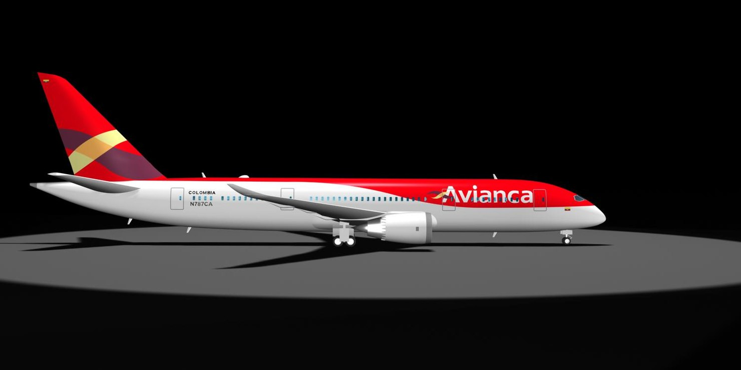 air avianca 787-8 dreamliner max