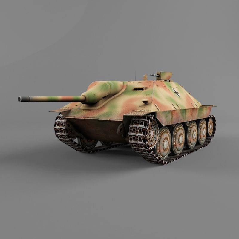 3d hetzer destroyer vehicles