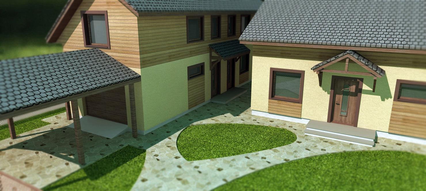 house garage 3ds